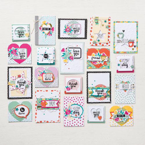 Oh happy day kit cards