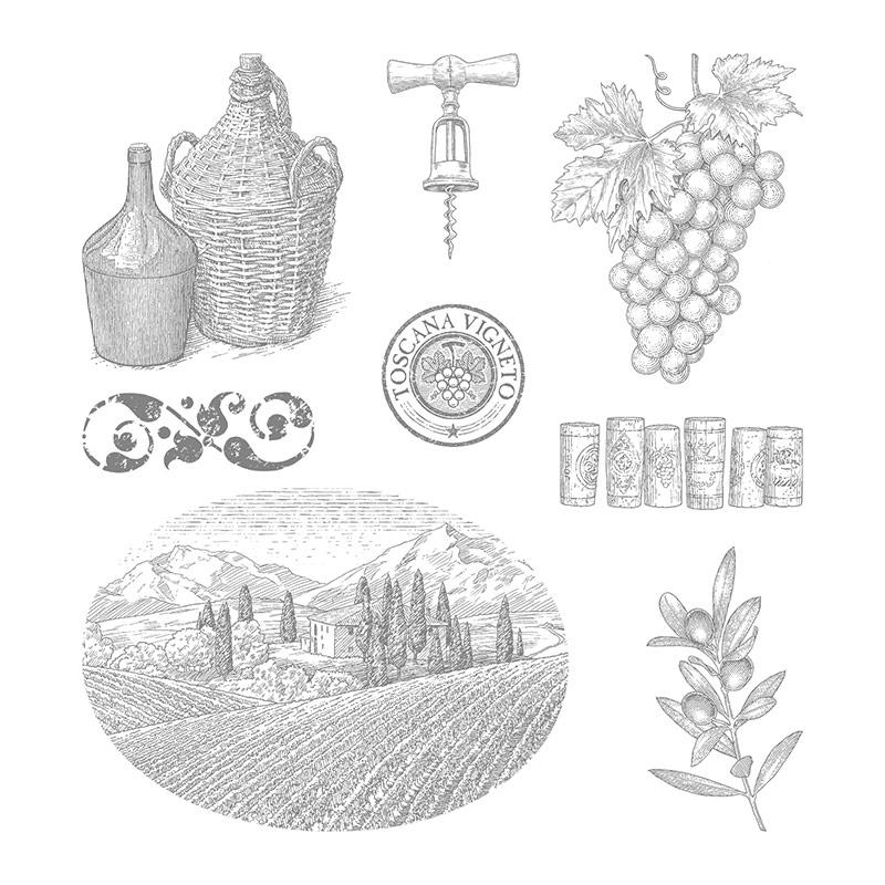 Tuscan-vineyard-art
